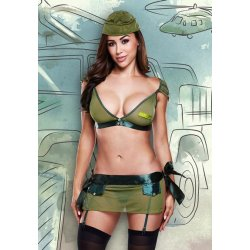 Colonel du costume National Marine de Baci Lingerie
