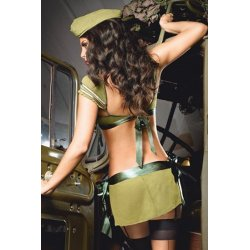 Disfraz de Coronel de la Armada Nacional de Baci Lingerie