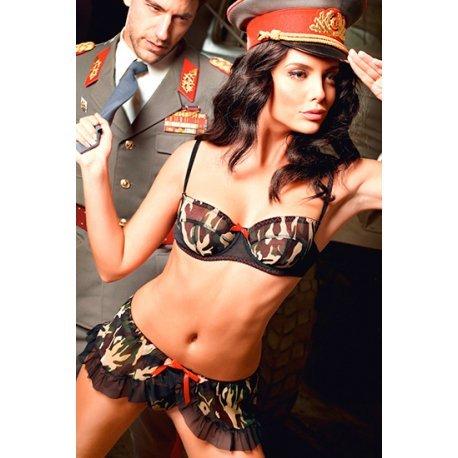 Disfraz de Sargento de la Marina Sexy
