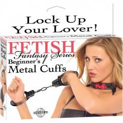 Fetish Fantasy beginner Metal handcuffs