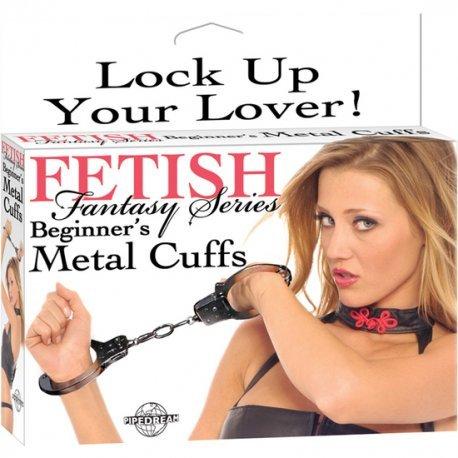 Menottes métal de Fetish Fantasy débutant