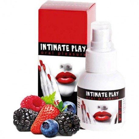 Intimate Play Gel para Sexo Oral Frutas Rojas del Bosque