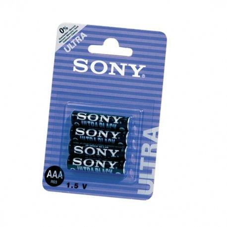 R03/AAA Sony New Ultra 4 PCs