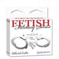 Esposas de Metal de Fetish Fantasy