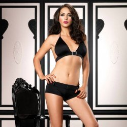 Short et Top set Leg Avenue Halter