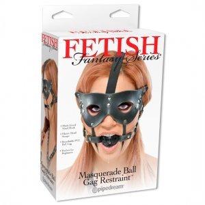Bâillon avec masque Fetish Fantasy