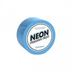 Tape Bondage blue Neon