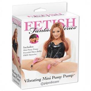 Fetish Fantasy Mini vibrator Vagina suction