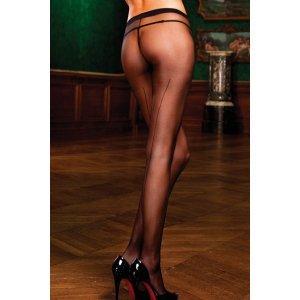 Panties Negros Con Costura Trasera de Baci Lingerie