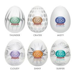 Tenga Huevo Masturbador Pack 6 Hard Boiled
