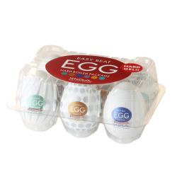 Tenga egg Masturbator Pack 6 Hard Boiled