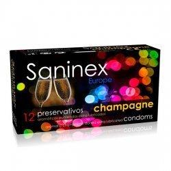 Préservatifs Saninex aromatiques Champagne 12 PCs