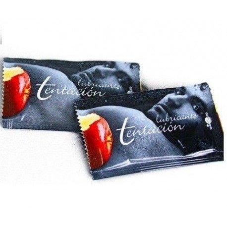 Doses de lubrifiant unique tentation chocolat