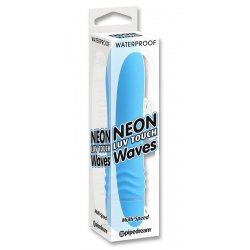 Vibrador Neon Luv Touch Waves Azul