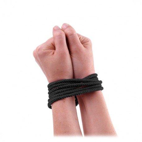 Cuerda de Seda Negro
