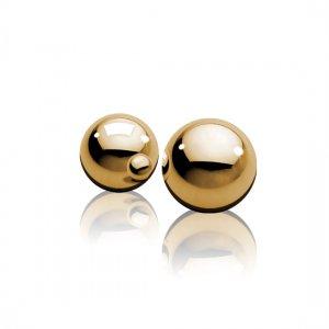 Ben-Wa gold glass balls