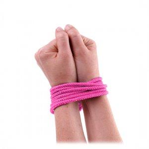 Cuerda de Seda Mini Rosa
