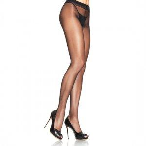Culotte taille haute couleur noir de Leg Avenue