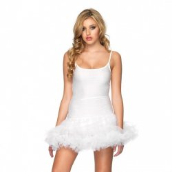 White dress with Tutu from Leg Avenue