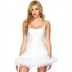 Vestido Blanco Con Tutu Blanco