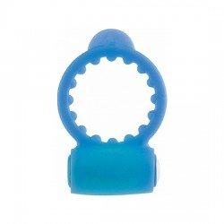 Neon blue penis ring