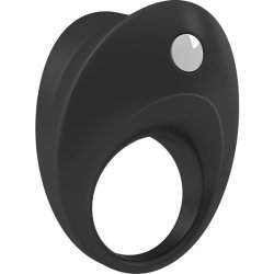 Ovo B10 black vibrator ring