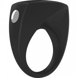 Ovo B6 black vibrating ring