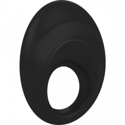 Ovo B5 black vibrating ring