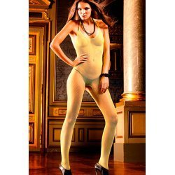Baci Lingerie yellow net body