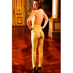 Baci Lingerie yellow net body