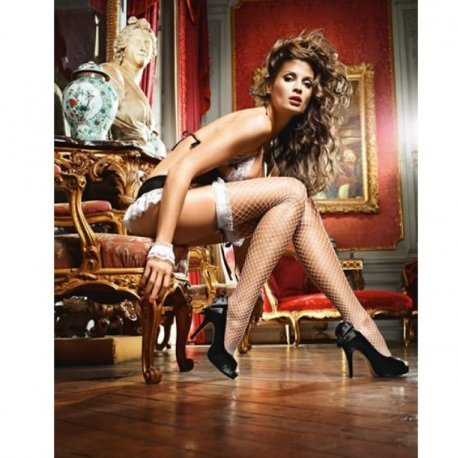 Baci Lingerie stockings White Angel