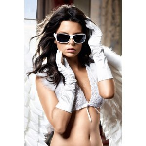 Gloves white Angel fallen from Baci Lingerie