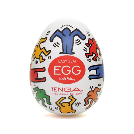 Egg have Dance Keith Haring