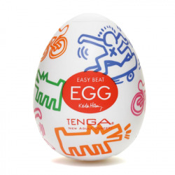 Egg have Keith Haring Street