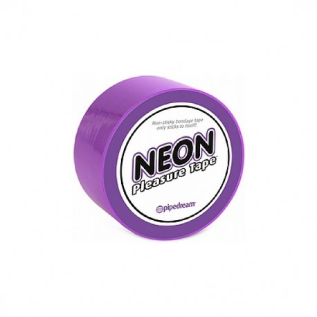 Neon tape Bondage lilac