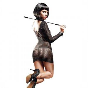 Baci Lingerie Long Sleeve NET dress