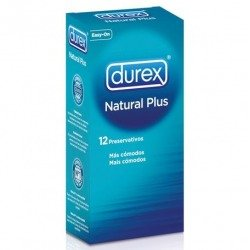 Preservativos Durex Natural Plus 12 Uds