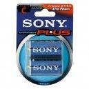 Piles LR 14/C Sony Stamina Plus 2 unités