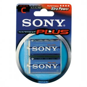 Batteries LR 14/C Sony Stamina Plus 2 units - diversual.com