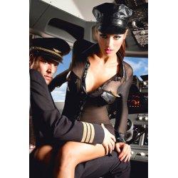 Costume de pilote de ligne aérienne Baci