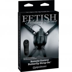 Harnais Butterfly vibrateur distant Fetish Fantasy limited edition