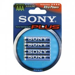 Stamina Plus 4 PCs LR03/AAA batteries