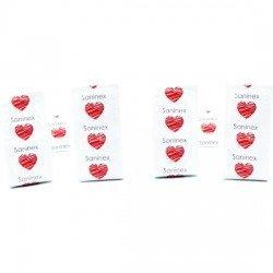 Préservatifs gay Passion ponctuée aromatique fruits 12 PCs