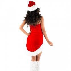 Picaresque - costume de Mama Noel Sara rouge