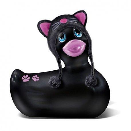 Canard vibromasseur Meow de voyage noir