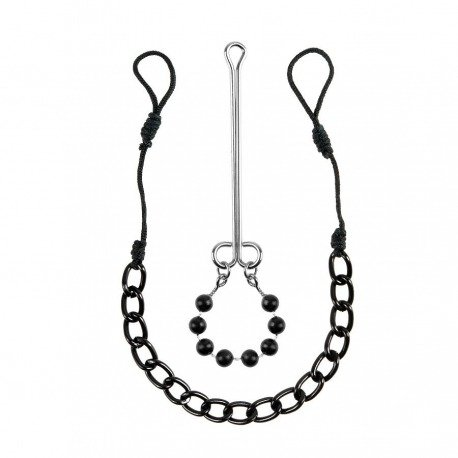 Clamps for nipples and clit Fetish Fantasy limited edition