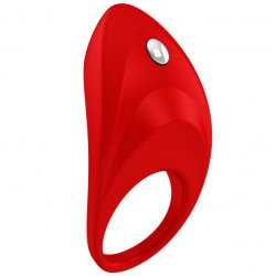 Ovo B7 red vibrating ring