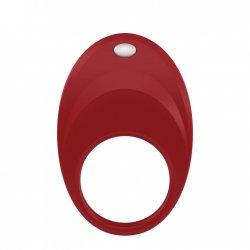 Ovo B7 red vibrating ring