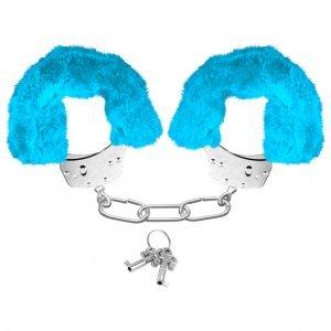 Neon Esposas de Peluche Azul