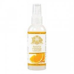 Ml de glace Touche Orange 80 comestible lubrifiant